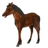 """Hansa Thoroughbred Foal, 39""""L x 39""""H (5448)"""