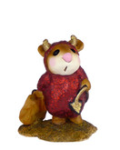 Wee Forest Folk Miniature - Little Devil (M-61-Red)