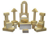 Beka Traditional Wooden Blocks - 28 Piece Innovator Set