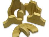 Beka Wooden Blocks - Special Shapes 7 Piece Ultimate Add-on Set