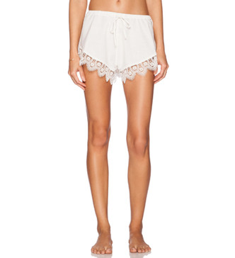 Loungin' Around Shorts in Ivory