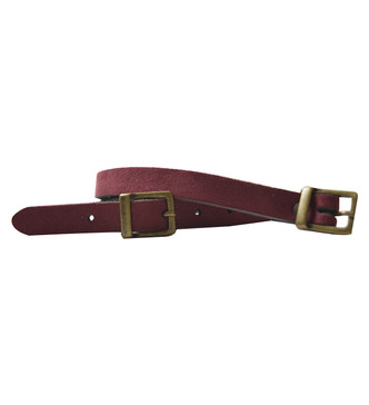 Plum and Navy Belt