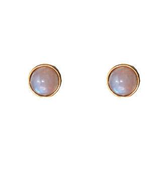 Elizabeth and James Talis Moonstone Earring