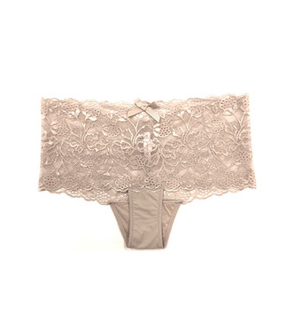 Daily Lace Boy Short in Nude