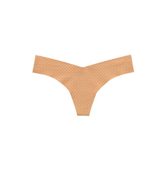 Commando Nude Polka Dot Thong