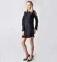 3.1 Phillip Lim Long Sleeve Cold Shoulder Dress in Black