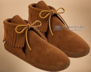 Men's Classic Fringed Boot Moccasins