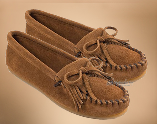 Women's Kilty Hard Sole Moccasins