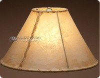 Southwest Rawhide Lamp Shades