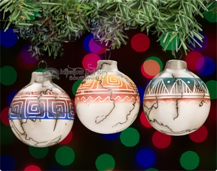 rustic southwest christmas ornaments native american ornaments - Southwest Christmas Decorations