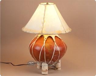 southwestern pottery lamps