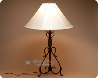 Southwestern lamps western table lamps handcrafted lamps southwestern lamps aloadofball Image collections