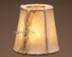 "Southwestern rawhide chandelier shade. 4"""