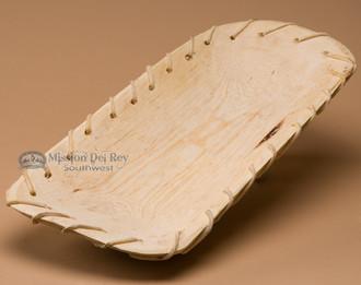 Laced log bowl - unfinished.