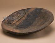 Old style round flat bottom bowl.