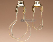Bulb Clip Adapter w/ Finial
