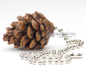 Rustic Ceiling Fan Chain Pull 1 5 Quot Pine Cone Cp6