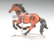 Western Resin Chainpull - Horse