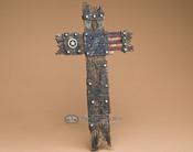 "Southwestern Style Wall Cross 14"" -Americana (14-1043)"