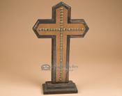 "Western Style Rustic Cross 17.25"" c(19)"