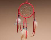 Native American Dream Catcher - Red