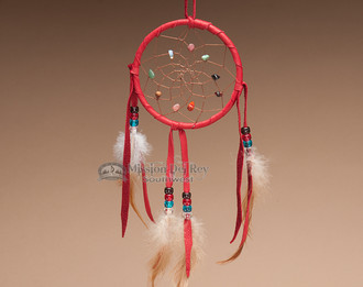 Native American Dream Catcher - Red