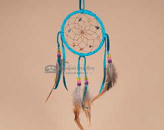Native American Dream Catcher - Turquoise