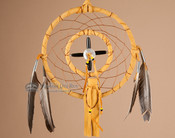 Native American Dream Catcher - Gold