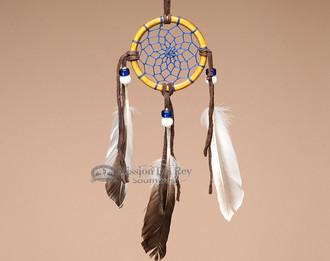 "Navajo Bone Dream Cactcher - 2.5"""