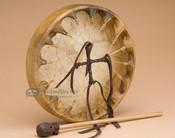 Cherokee Elk Hide Hand Drum