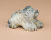 Hand Carved Stone Zuni Fetish -Frog (f86)