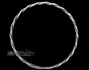 """Native American Silver Bangle Bracelet 8.5"""" -Navajo"""
