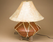 Southwest Tarahumara Pottery Lamp