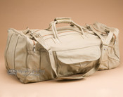 "Handcrafted Cowhide Travel Bag 23"" -Tan (b455)"