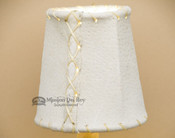 """4"""" Natural Leather Chandelier Shade"""