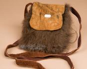"Native American Buffalo Medicine Bag 6x7"" -Sioux (b114)"