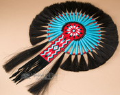 Native American Horse Hair Bustle.