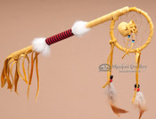 "Native American Navajo Medicine Coupe Stick 12"""