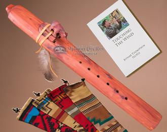 Native American Cedar Drone Flute -Bear