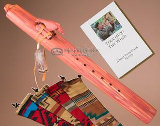 Native American Cedar Drone Flute -Eagle