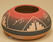 Hand Etched Sioux Pottery