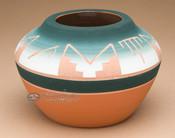 "Native American Pottery Medicine Bowl 4"" -Sioux (p619)"