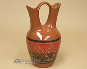 Sioux Wedding Vase - Red Glaze