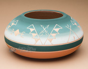 Native American Planter Vase