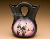 "Native American Navajo Wedding Vase 5.5"" -Natives (87)"