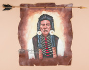 Authentic Navajo arrow wall hanging.