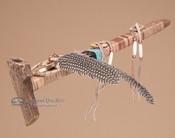 Authentic Pueblo Indian Antler Peace Pipe