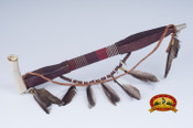 Navajo Antler Bowl Peace Pipe