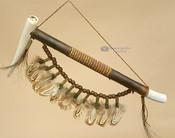 Navajo Antler Peace Pipe