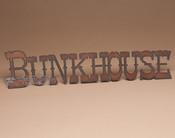 Metal Art Sign - Bunkhouse
